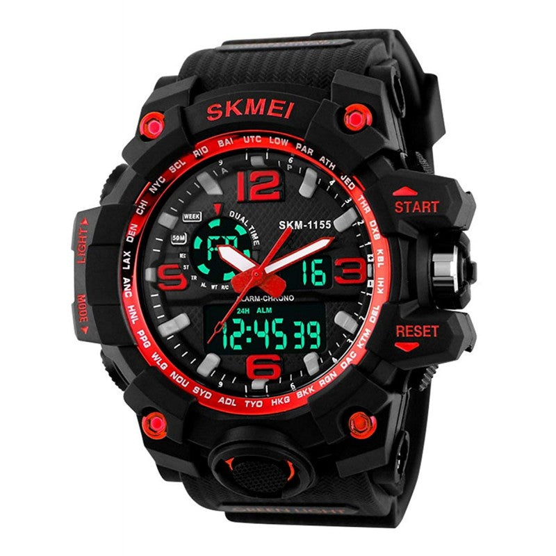 SKMEI Multifuction Black Color Digital Men's Watch DY03