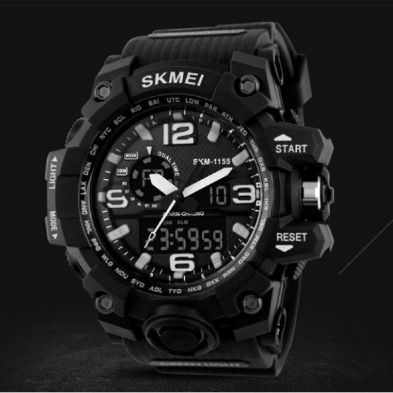 SKMEI Multifuction Black Color Digital Watch DY05