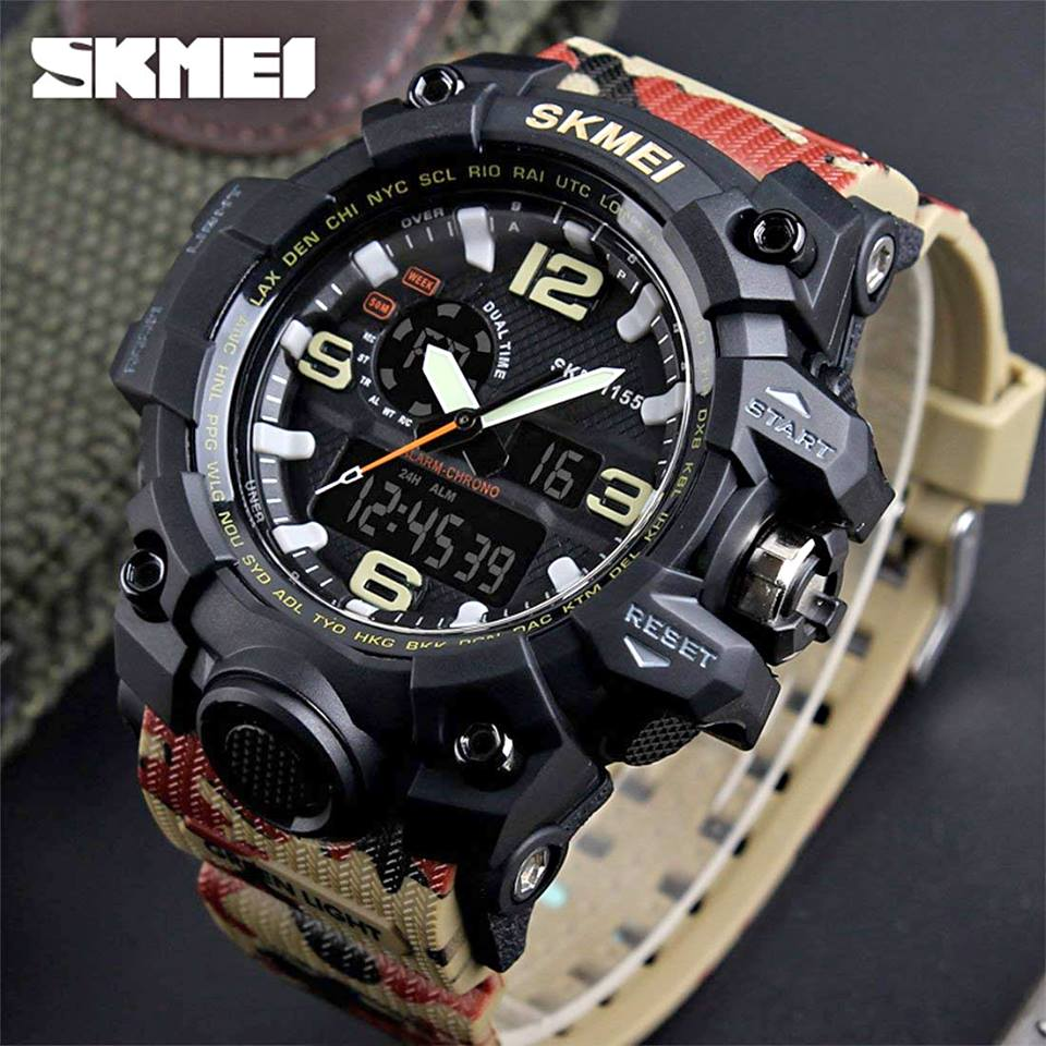 SKMEI Sports Analog-Digital Multi-Colour Dial Men's Watch - DY01