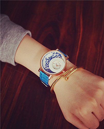 DealYEP Analogue White Dial Girl's & Women's Watch DY86