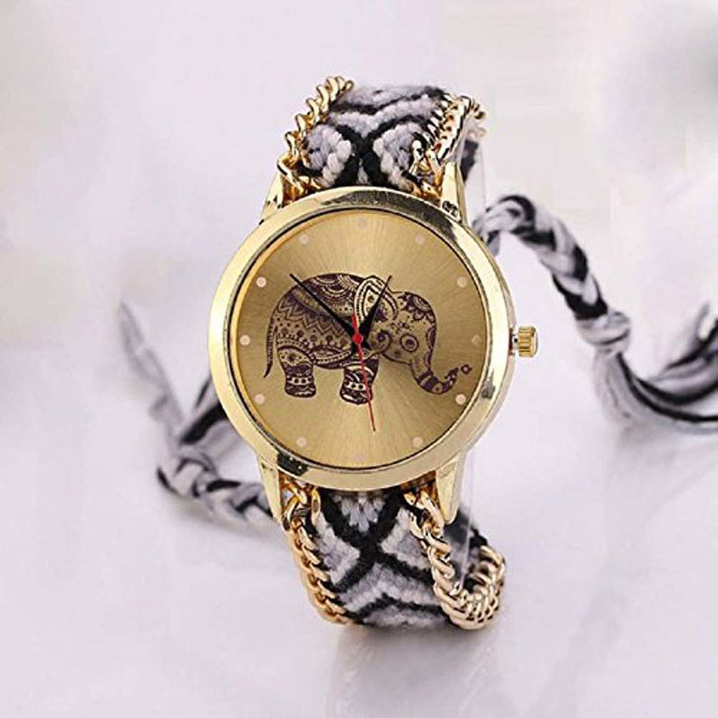 DealYEP New Arrival Cute Elephant Multi colour Stylish Analog Watch For Girls & Women DY-95