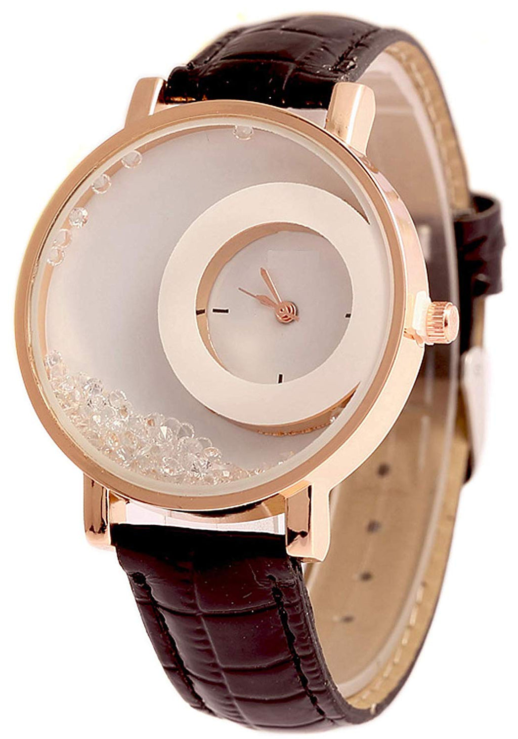 DealYEP Analogue White Dial Girl's & Women's Watch DY85