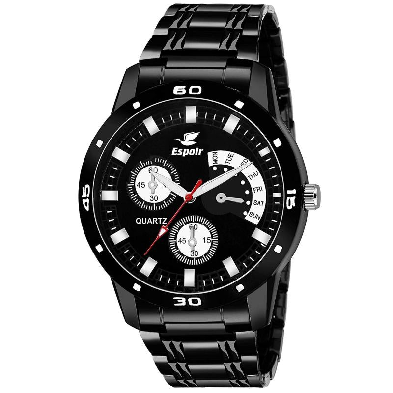 DealYEP Analog Unique Style Black Dial Boy's and Men's Watch -DY116