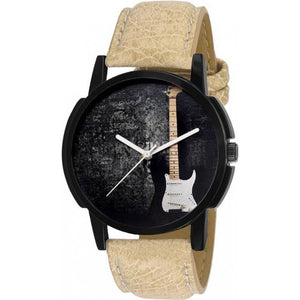 Beige Color Men's Analog Watch DY16