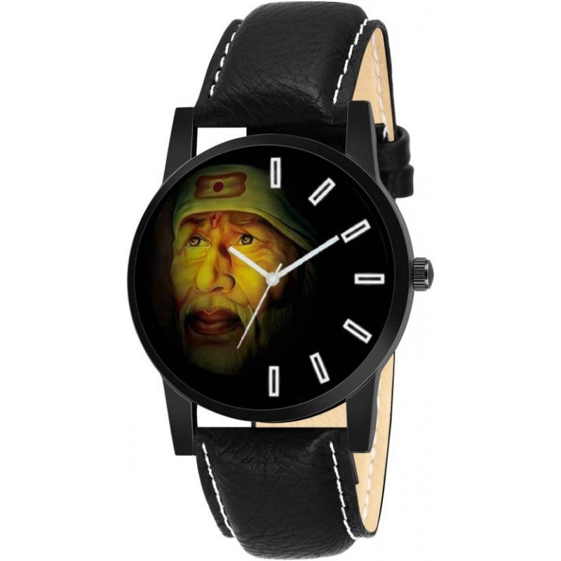 Lord sai baba Black Color Men's Analog Watch DY27
