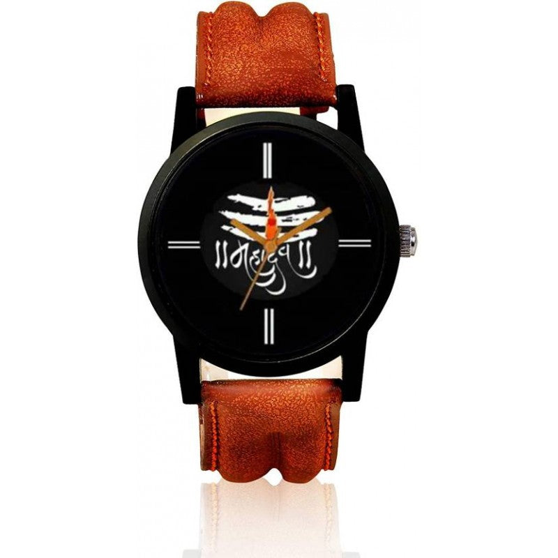 Brown Color Men's Analog Watch DY40