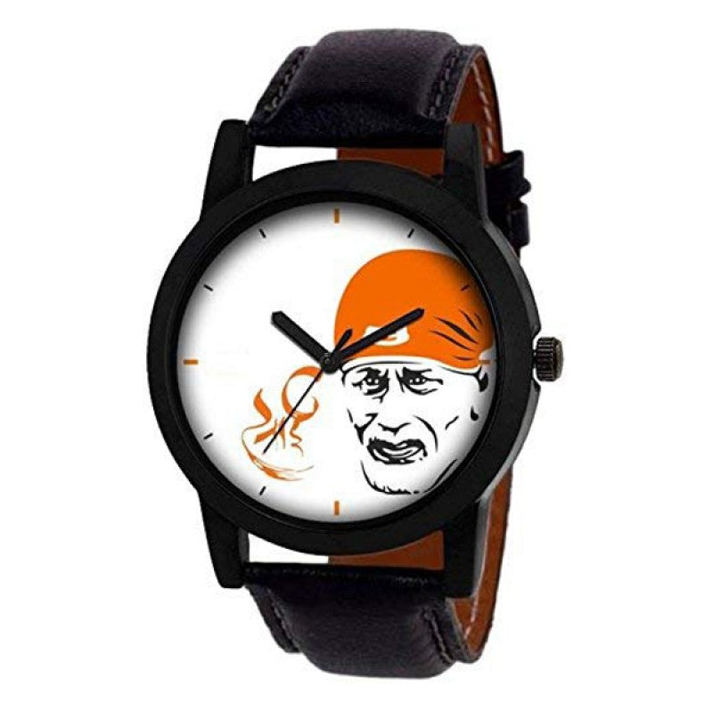 Lord sai baba Black Color Men's Analog Watch DY22