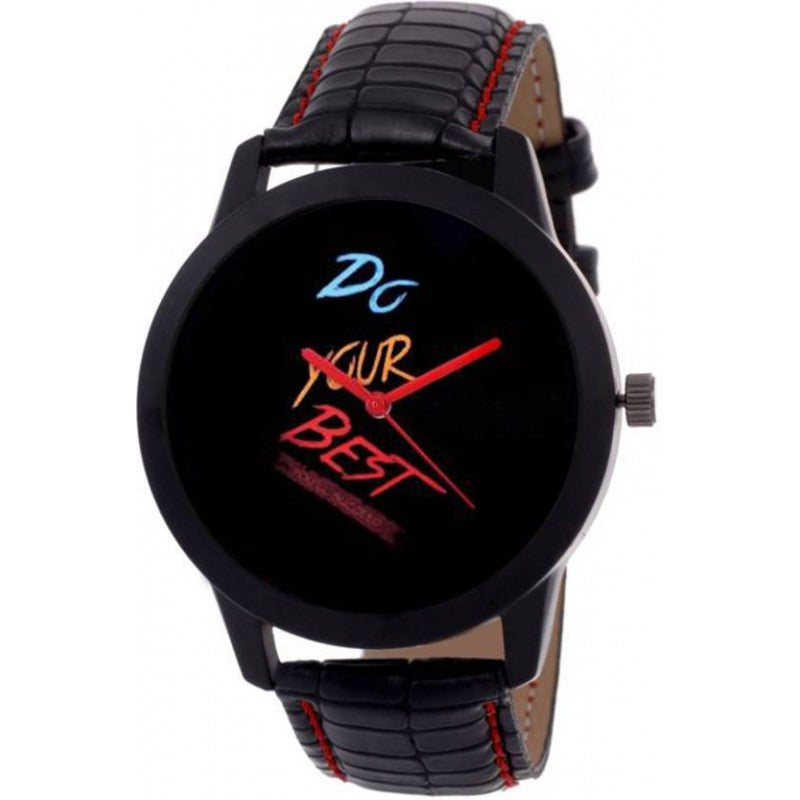 Black Color Men's Analog Watch-DY30