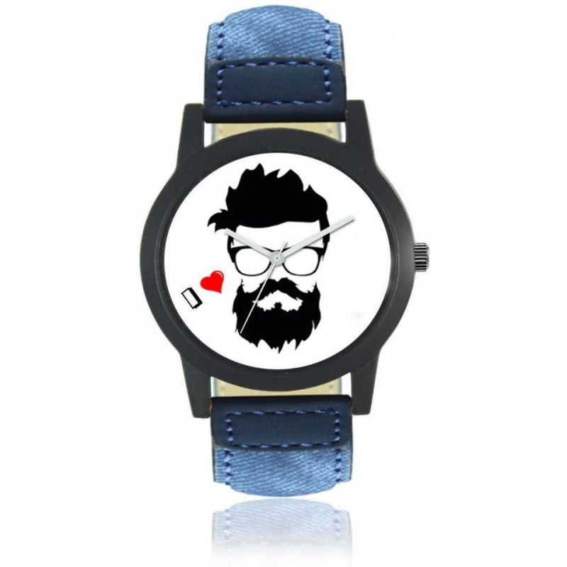 Blue Color Men's Analog Watch-DY36
