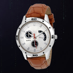 Brown Color Men's Analog Watch DY41