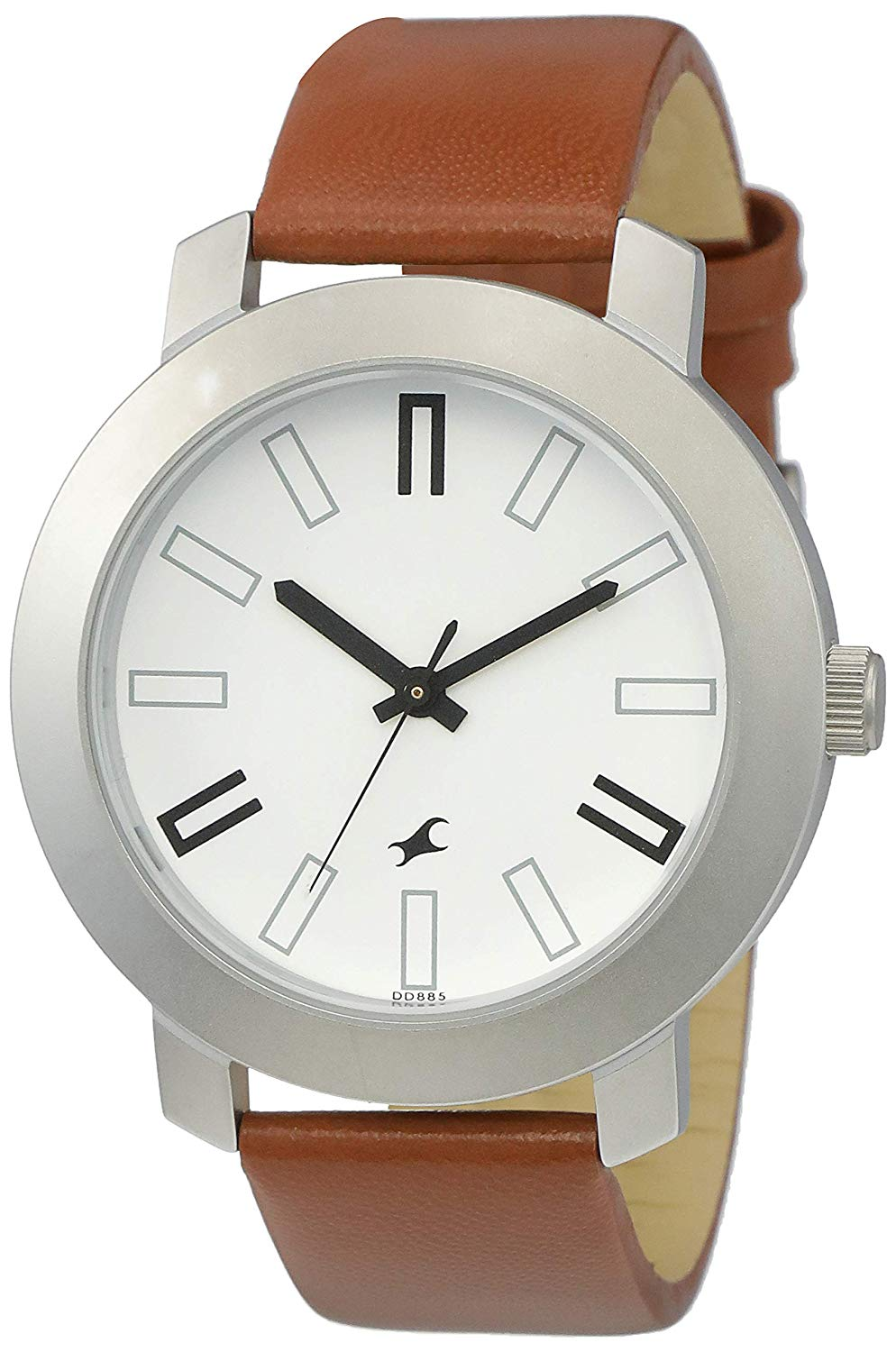 Fastrack Casual Analog White Dial Men's Watch -DY137