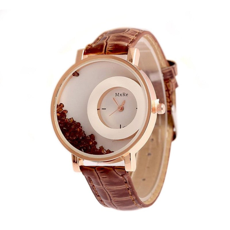DealYEP Analogue White Dial Girl's & Women's Watch DY87