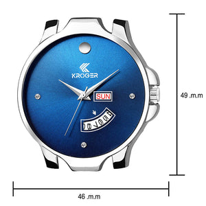Dealyep Analog Blue Dial Men's and Boys Watch-DY62
