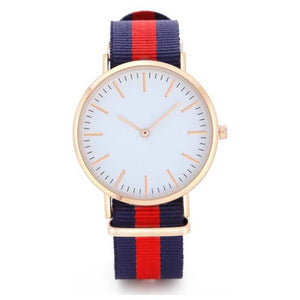 Blue&Red Color Analog Men's Watch DY37