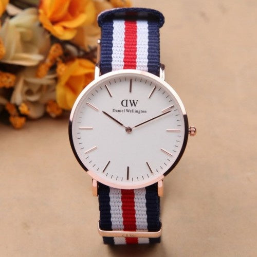 DW Classic Analog White Dial Men's & Women's Watch - DY124
