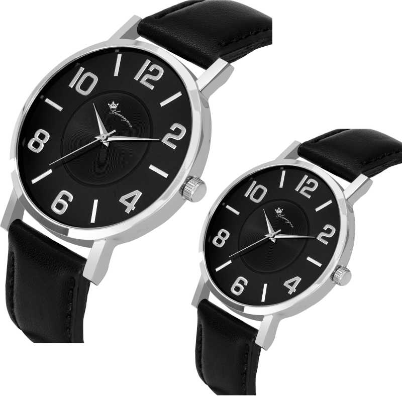 Black Dial Party collection couple watch Analog Watch - For Men & Women DY-104
