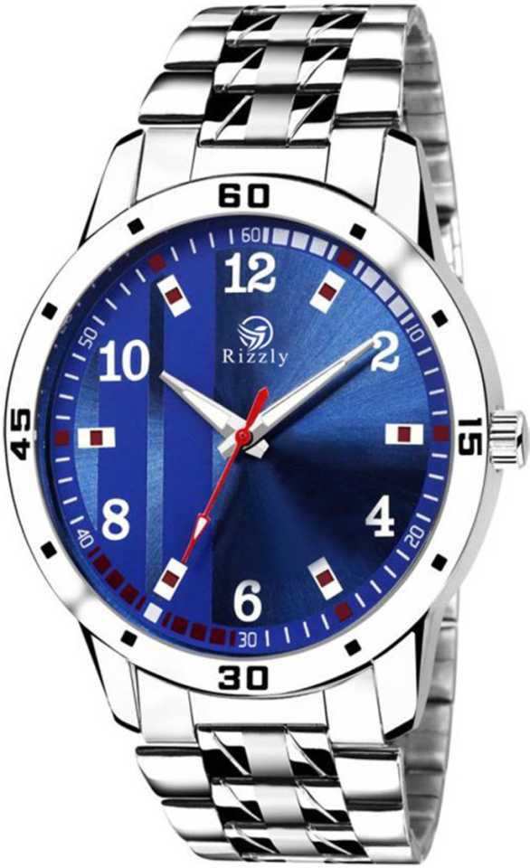 Blue Dial Rich Look Analog Watch - For Men DY50