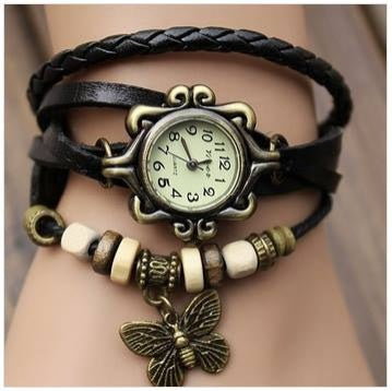 BLACK VINTAGE SUPER FAST SELLING WATCH-DY120