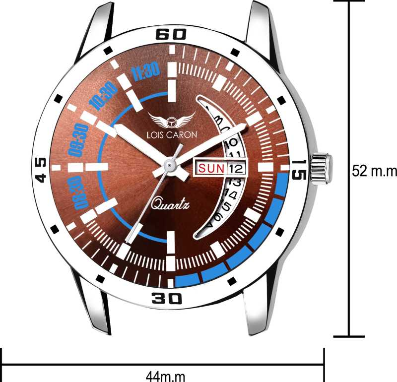 DAY & DATE FUNCTIONING Analog Watch - For Men DY54