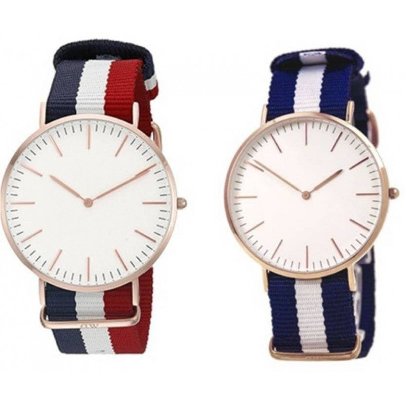 Red&Blue Combo Men's Analog Watch-DY42