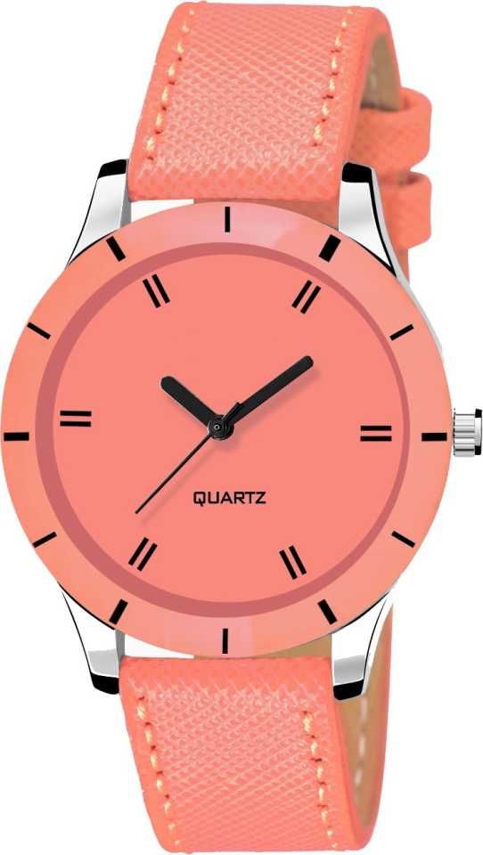 DealYEP Stylish Orange dial Orange strap Orange Analog Watch - For Girls DY82