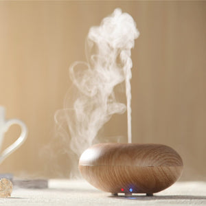 Ultrasonic Wood Saucer Diffuser