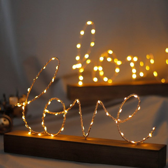 Home Love LED Night Light