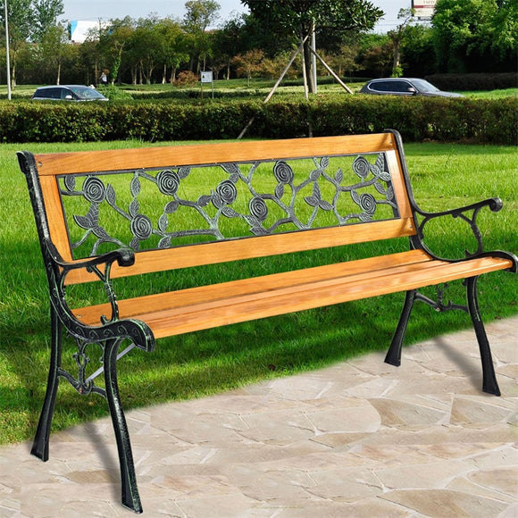 Outdoor Cast Iron Garden Bench