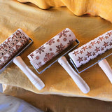 Mini Embossed Holiday Rolling Pins