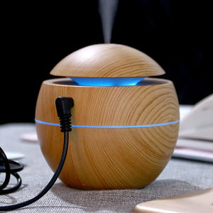 Ultrasonic Bamboo Grain Diffuser