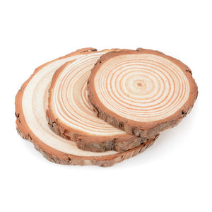 Log Slice Coasters
