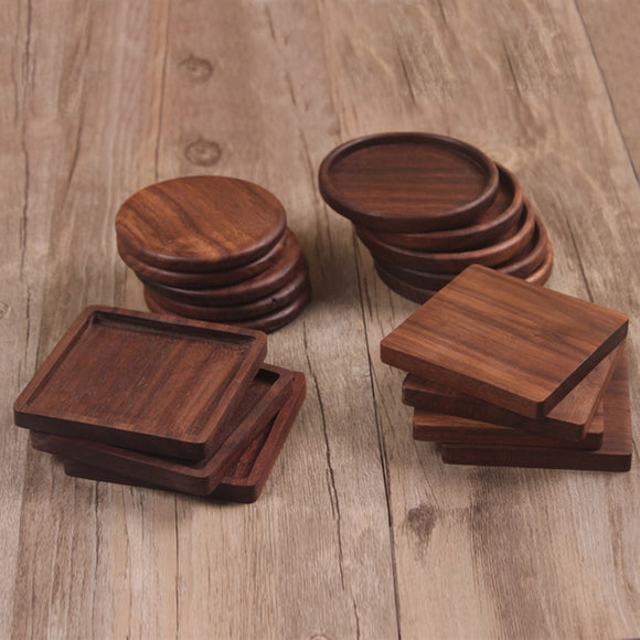 Walnut Wood Coasters