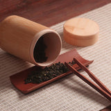 Mini Bamboo Tea Storage Containers
