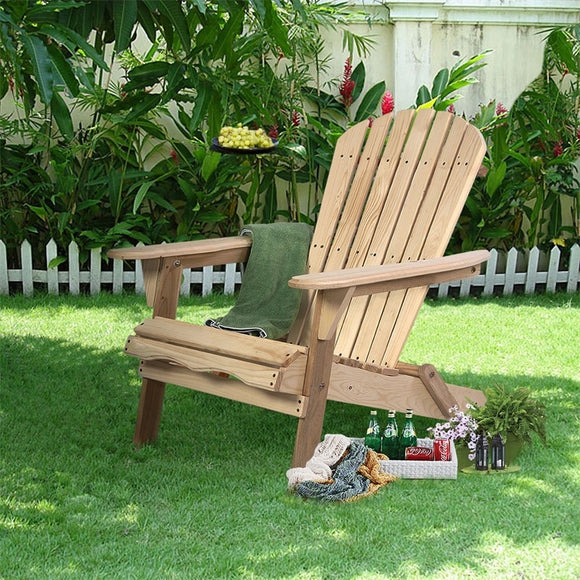 Folding Adirondack Patio Chair