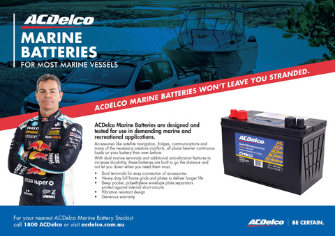 AC Delco Marine Batteries  Battery HQ Brisbane
