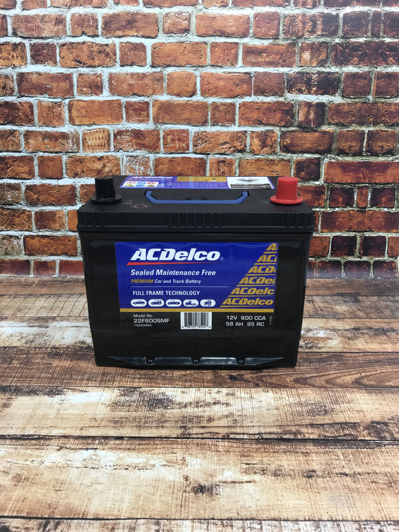 AC Delco 22F600SMF Battery