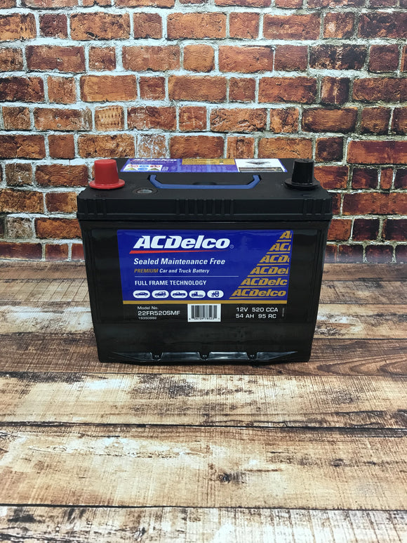 AC Delco 22FR520SMF Battery