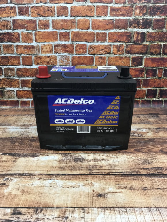 AC Delco 22FR600SMF Battery