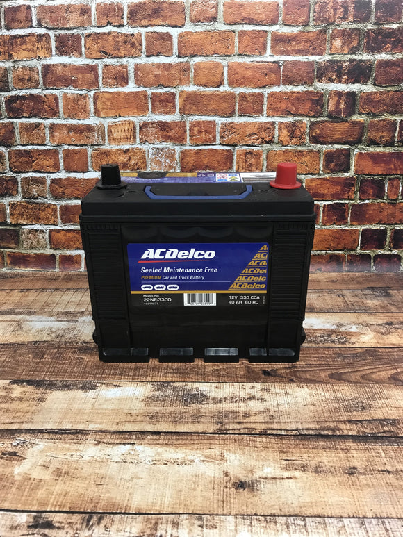 AC Delco 22NF-330D Battery