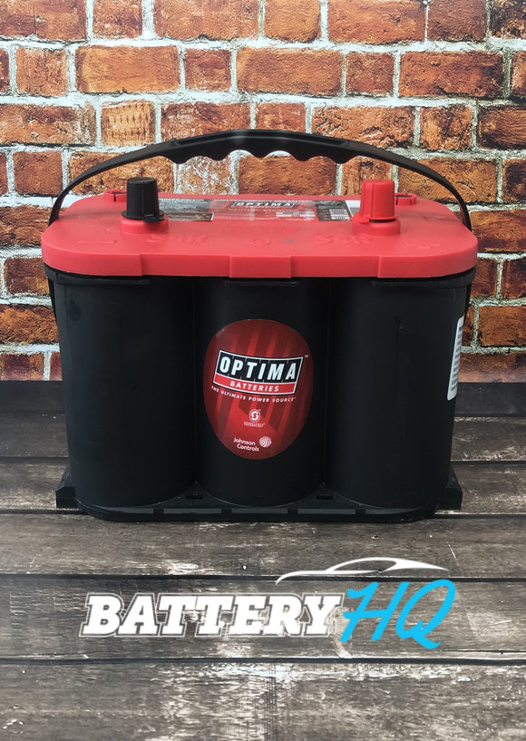 Optima Red Top 34R AGM - Battery HQ Brisbane