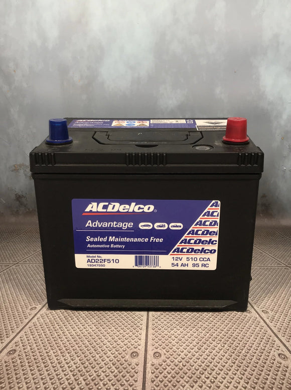 AC Delco AD22F510 car battery