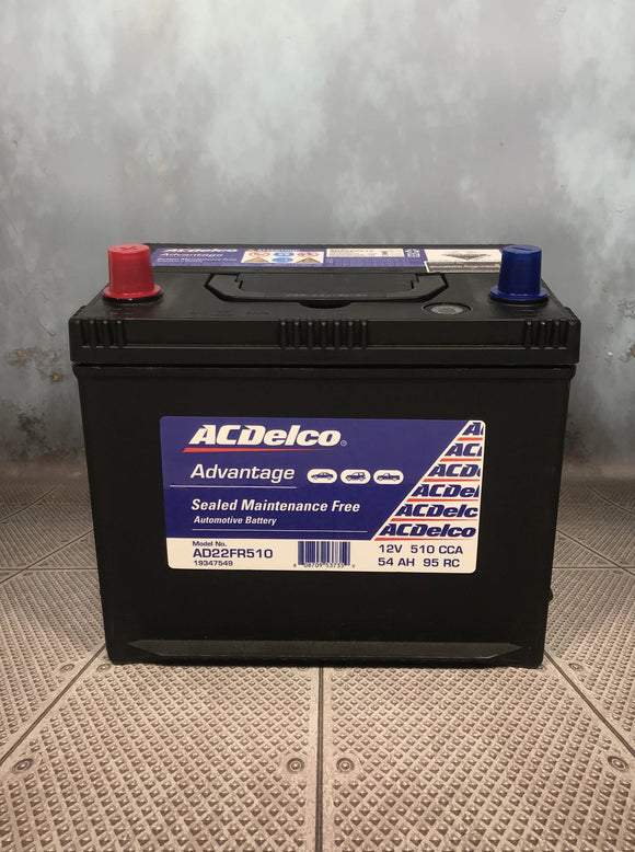 AC Delco AD22FR510 Car Battery