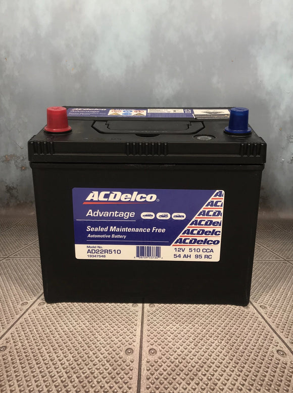AC Delco AD22R510 Car Battery