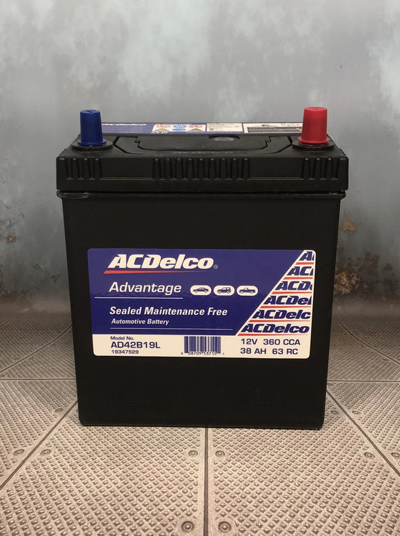 AC Delco AD42B19L Car Battery