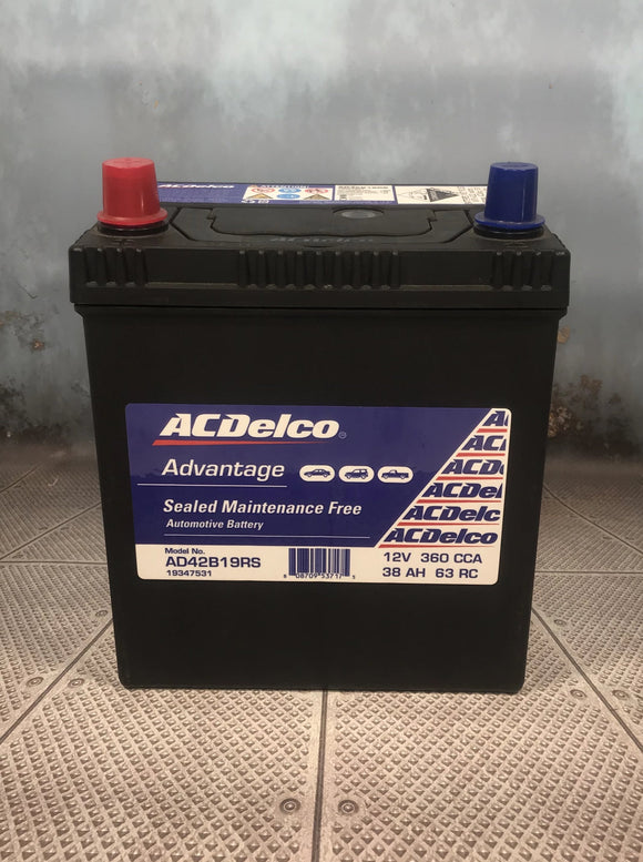 AC Delco AD42B19RS Car Battery