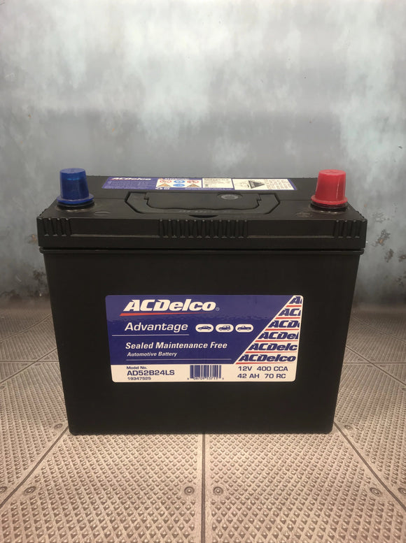 AC Delco AD52B24LS Car Battery
