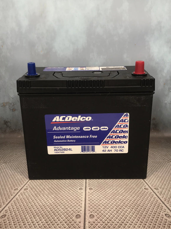 AC Delco AD52B24L Car Battery