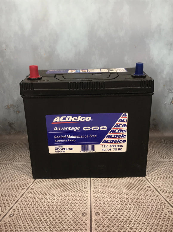 AC Delco AD52B24R Car Battery