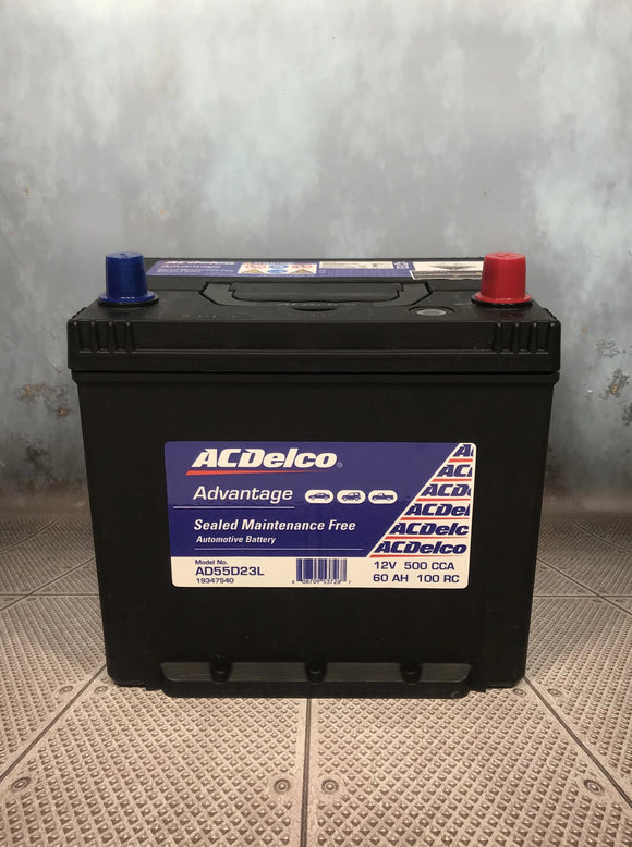 AC Delco AD55D23L Car Battery