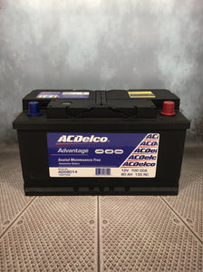 AC Delco AD58014 Car Battery DIN75